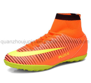 OEM PVC Rubber Sport Football Soccer Sneaker Shoes pictures & photos