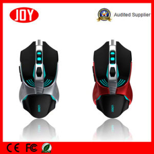 Customized Logo Slim Optical Gaming Wired Mouse pictures & photos