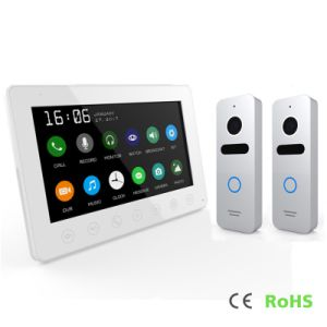 "Memory 7"" Home Security Interphone Video Door Phone Intercom System pictures & photos"