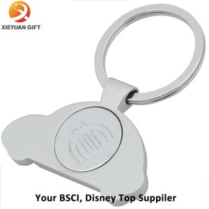 Eco-Friendly Custom Car Logo Metal Keychain Rings pictures & photos