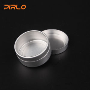 15g 1/2oz Small Portable Round Shape Aluminum Empty Skin Care Cream Jar pictures & photos
