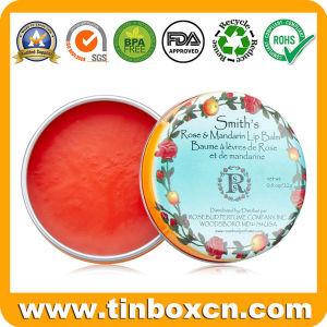 Metal Can Tin Case Cosmetic Tin Box for Lip Balms pictures & photos