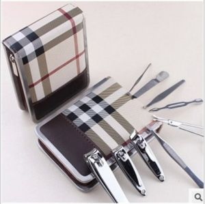 Manicure Set with PU Case Nail Clipper Set for Women pictures & photos