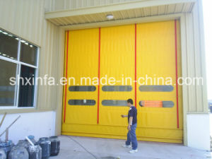 Automatic High Speed Plastic Door for Plant with Observing Window