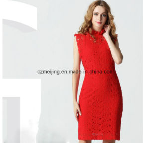 Two Color Restonic Women`S Dress