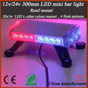 Police Warning Mini Bar Light in Red and Blue LEDs pictures & photos