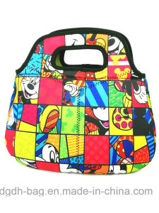 Full Color Printing Chear Insulated Kids Lunch Bag for Promotion pictures & photos