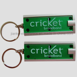 LED Flashing Light up Keychain with Logo Printed (3672) pictures & photos