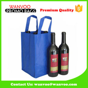 Promotion Non Woven Wine Bottle Bag for Sale pictures & photos