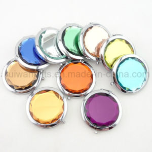 Mini Makeup Pocket Mirror for Promotional Compact Mirror pictures & photos