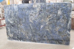 Polished Blue Granite Slab for Decoration / Countertop pictures & photos