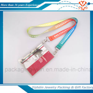 Customized Your Own Logo & Design and Sample Free with Fashion ID Card Holder Lanyard