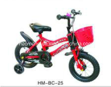 Red Chinese Kids Bicycle with Basket pictures & photos