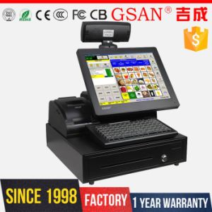 Small Cash Register for Sale Touch POS Terminal Point of Sale Integration pictures & photos