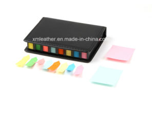 Office Stationery Leather Cover Sticky Note Holder pictures & photos
