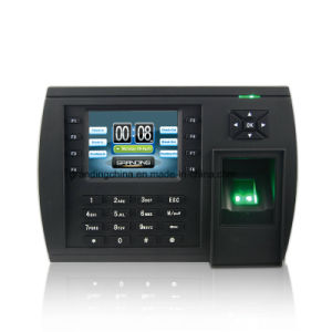 Fingerprint RFID Time Attendance System (TFT500) pictures & photos