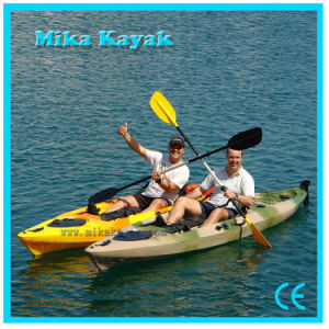 Professional Fishing Boat Kayak Sit on Top Pedal Canoe with Rudder pictures & photos