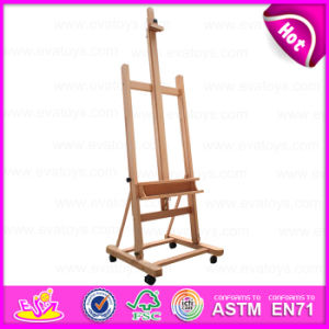 New Popular Beech Portable Folding Artist Table Painters Easel Wooden Mini Easel W12b079 pictures & photos