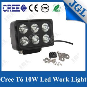 Waterproof 60W Square CREE LED Work Lamp Light 7inch 4WD