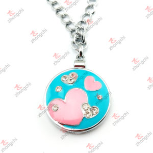 Wholesale Fashion Metal Love Mirror Frame Pendant Jewelry for Necklace (MFN50815)