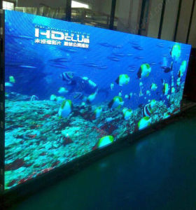 Slim Indoor P4 Full Color LED Display Panel with 576X576mm pictures & photos