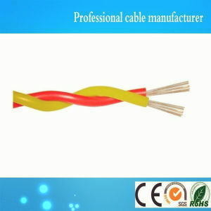 Flexible Single Pair PVC Insulated Copper Wire Twisted Pair Cable pictures & photos