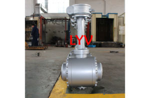 Forged Steel High Pressure Flanged Ball Valve pictures & photos