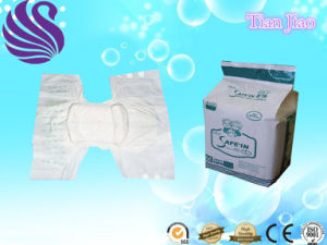 Unique Design Soft Hot Selling Customizing Disposable Adult Diapers pictures & photos
