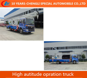 Foton 4X2 High Platform Truck with Good Price pictures & photos