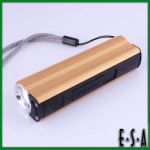 2015 Portable LED Flashlight Torch, New LED Flashlight Torch, LED Flashlight Torch with USB/Samsung Port/Cigarette Lighter G01b110 pictures & photos