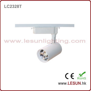 Very Hot 30W White/Black LED COB Track Lights for Jewelry Shop LC2328t pictures & photos