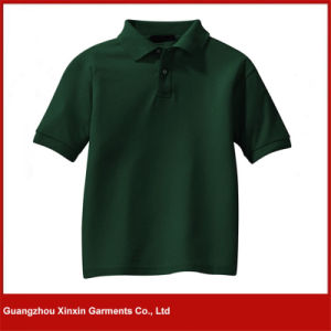 OEM Factory Fashion Design Printing Golf Shirts for Advertising (P112) pictures & photos