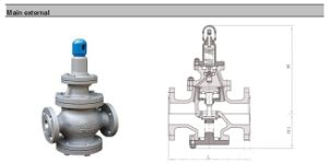 High Temperature Stainless Steel Steam Pressure Reducing Valve pictures & photos