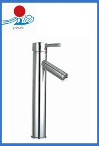 High Quality Bathroom Brass Wash Basin Tap Faucet (ZR23002-A) pictures & photos