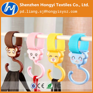 Cartoon Customized Promotional Gift Magic Tape Stroller Hook pictures & photos