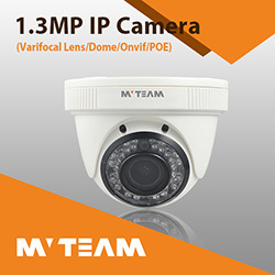 Dome School Hotel CCTV Camera Varifocal Lens Infrared IP Camera 1024p 1.3MP with CE FCC RoHS pictures & photos