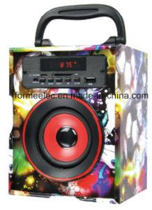 Wooden USB SD Speaker 3W Bg325b Portable Speaker pictures & photos