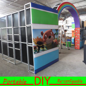 6X9 Meters Portable Versatile Trade Show Stand for Baby Products with Display Shelf Wall pictures & photos