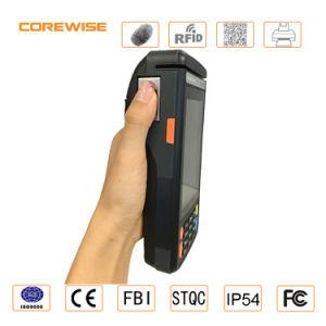 Magnetic Strip Card, IC Card Reader, Fingerprinter Sensor 508dpi, Built-in Thermal Printer pictures & photos