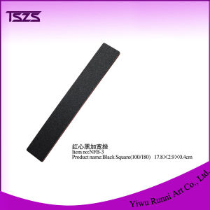 Wide Black Square Nail File