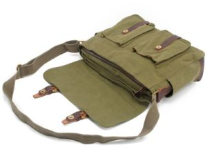 Hote Sale Washed Canvas iPad Shoulder Bag Satchel (RS-2156) pictures & photos