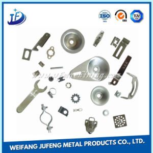 Customized Deep Drawn Sheet Metal Stamping Part with Powder Coating pictures & photos