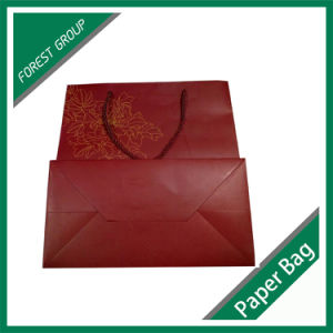 Red Color Gift Paper Bag for Wholesale pictures & photos