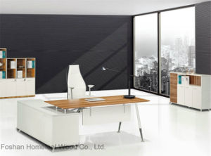 Cheap Price Modern Office Manager Desk Design (HF-BD004) pictures & photos
