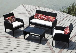 Modern Outdoor Rattan Furniture Patio Leisure Sofa for Garden