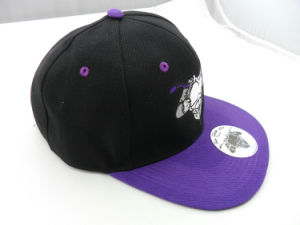 Custom Fitted Wide Brim Purple Hats pictures & photos