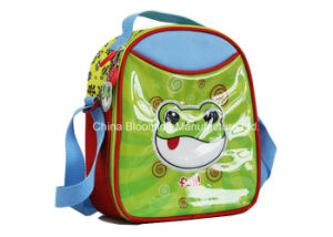 Polyester Isothermic Lining Kids Children Cooler Lunch Bag pictures & photos