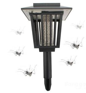 Solar Mosquito Repellent Lamp Lantern Killer Trap Repeller Backyard Outdoor Pest Control pictures & photos