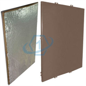 Energy-Saving Aluminum Panel for Building Insulated Curtain Walls pictures & photos