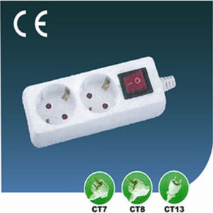 10A/13A European Electric Switch Power Outlet Socket pictures & photos